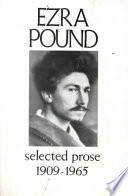 Selected Prose  1909 1965