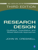 Research Design Qualitative and Quantitative Approaches