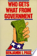 Who Gets What From Government
