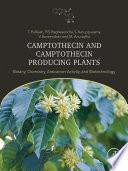 Camptothecin and Camptothecin Producing Plants
