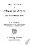 Methods In Common Branches Book PDF