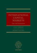 International Capital Markets
