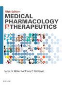 Medical Pharmacology   Therapeutics