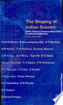The Shaping of Indian Science: 1982-2003