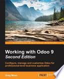 Working with Odoo 9 - Second Edition