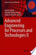 Advanced Engineering for Processes and Technologies II
