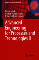 Pdf Advanced Engineering for Processes and Technologies II Telecharger