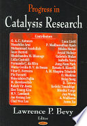 Progress in Catalysis Research