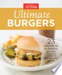 America s Test Kitchen Ultimate Burgers Book PDF