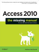 Pdf Access 2010: The Missing Manual Telecharger