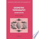Geometric Tomography