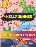Hello Summer Activity Book for Kids