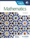 Mathematics for the IB MYP 4 & 5