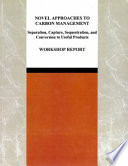 Novel Approaches to Carbon Management Book
