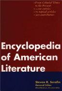 Encyclopedia of American Literature Book PDF