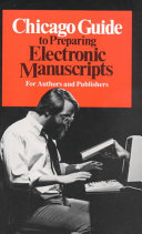 Chicago Guide to Preparing Electronic Manuscripts - Seite ii