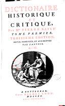 Dictionaire historique et critique ebook