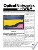 Optical Networks WDM Monthly Newletter December 2010 Book
