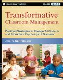 Transformative Classroom Management
