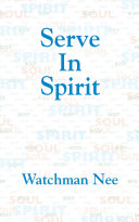 Serve in Spirit [Pdf/ePub] eBook