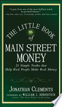 The Little Book of Main Street Money Book PDF
