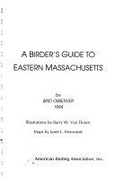 A Birder's Guide to Eastern Massachusetts