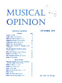 Musical Opinion