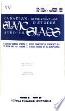 Canadian Slavic Studies.epub