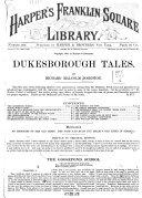 Dukesborough Tales
