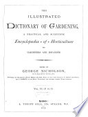 The Illustrated Dictionary of Gardening: F to O