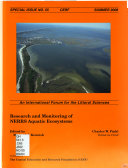Research and Monitoring of NERRS Aquatic Ecosystems