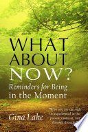 What about Now  Book