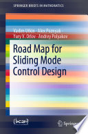 Road Map for Sliding Mode Control Design Book