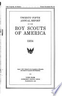 Annual Report of the Boy Scouts of America