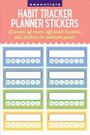 Essentials Habit Tracker Planner Stickers