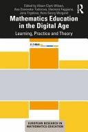 link to Mathematics education in the digital age : learning, practice and theory in the TCC library catalog