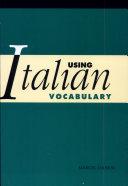 Using Italian Vocabulary