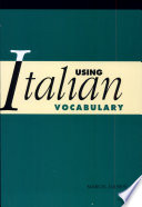 """Using Italian Vocabulary"" by Marcel Danesi"