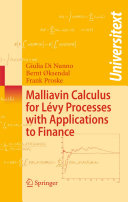 Malliavin Calculus for Lévy Processes with Applications to Finance Pdf/ePub eBook