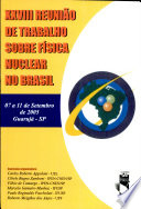 Anais da Vigésima Oitava Reunião de Trabalho sobre Física Nuclear no Brasil