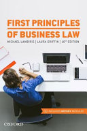 First Principles of Business Law 2017