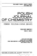Polish Journal of Chemistry Book