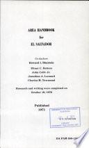 Area Handbook for El Salvador