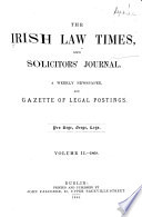 The Irish Law Times and Solicitors  Journal Book PDF