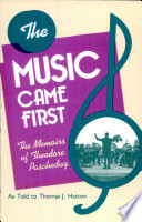 The Music Came First Book PDF