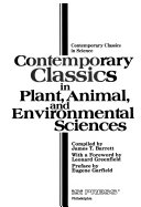 Contemporary Classics in Plant  Animal  and Environmental Sciences