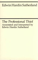 The Professional Thief