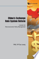 China S Exchange Rate System Reform
