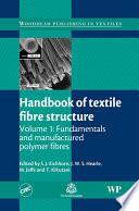 Handbook of Textile Fibre Structure Book