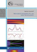 Wave Optical Simulations of X ray Nano focusing Optics